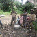 <b>Accompagnement des producteurs dans la mise en oeuvre de l'itinéraire technique de la production des semences de maïs à Kpélé Tsavié (semis) (2)</b> <br />